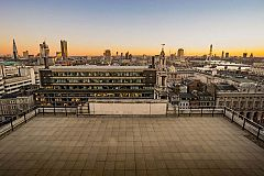 Rooftop Terrace Celebration Christmas Party in London